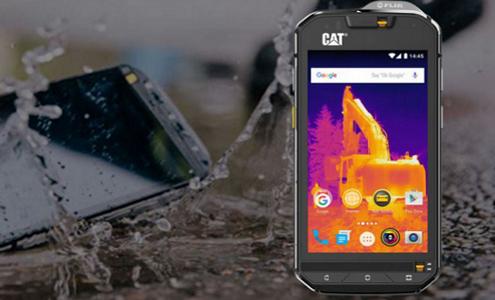 CAT S60, il primo smartphone con camera termica