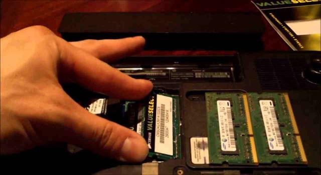 Come sostituire la memoria ram per i notebook