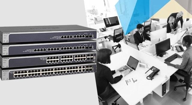 Switch 10GbE in rame, la tecnologia Netgear per le PMI