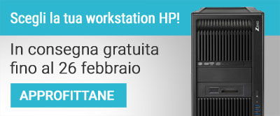 HP Workstation Consegna Gratuita