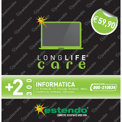 Estensione di Assistenza Care PC Notebook Tablet 2 anni fino a 300¤