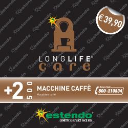 Estensione di Assistenza Care Macchine Caffè 2 anni fino a ¤ 500