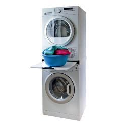 Installazione a colonna lavatrice-asciugatrice