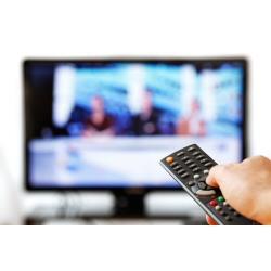 Installazione TV su piedistallo