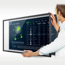 Installazione Monitor Largo Formato