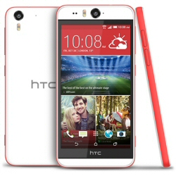 Smartphone desire eye coral red.