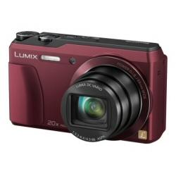 Fotocamera lumix dmc-tz55eg wi-fi red.