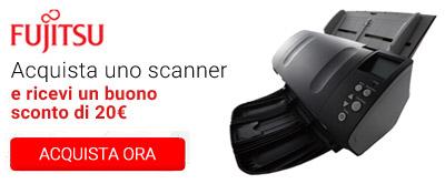Scanner Fujitsu e buono sconto 20¤