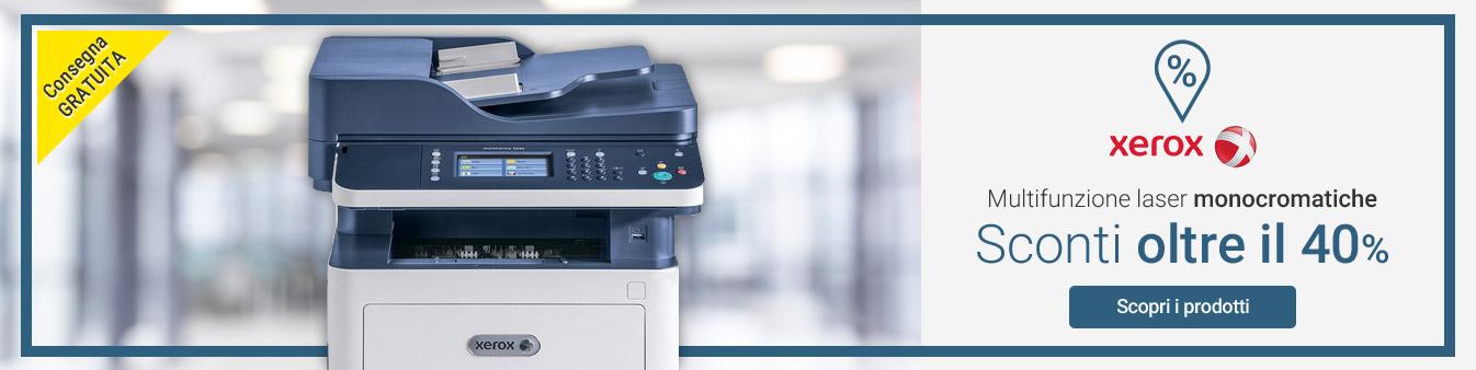 Multifunzione laser Xerox: -40%