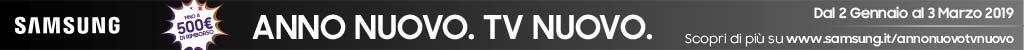 Anno nuovo, TV nuovo! Samsung rimborsa fino a 500 ¤