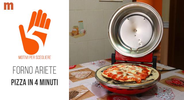 Forno Pizza Ariete Pizza in 4 Minuti: la recensione