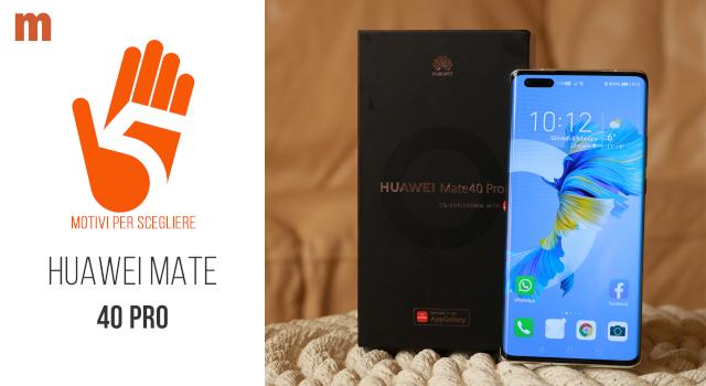 Huawei Mate 40 Pro: la recensione