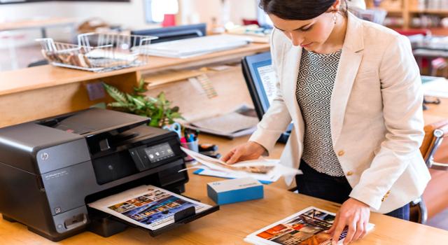La stampante in un negozio: una fedele alleata