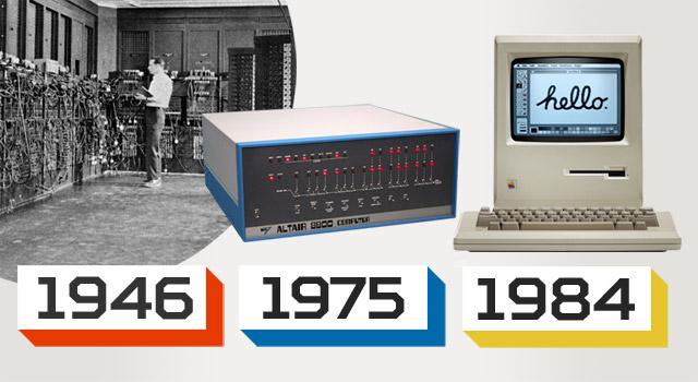 Storia del Personal Computer, da ENIAC al primo Macintosh
