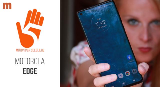 Motorola Edge: la recensione