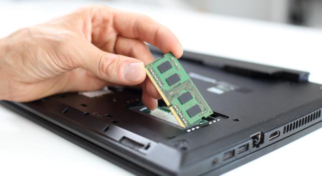 RAM: quanta memoria è meglio avere sul notebook?