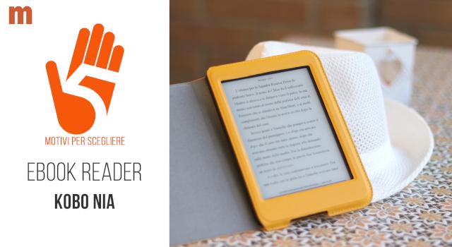 Kobo Nia: il nuovo ebook reader Kobo 6 pollici