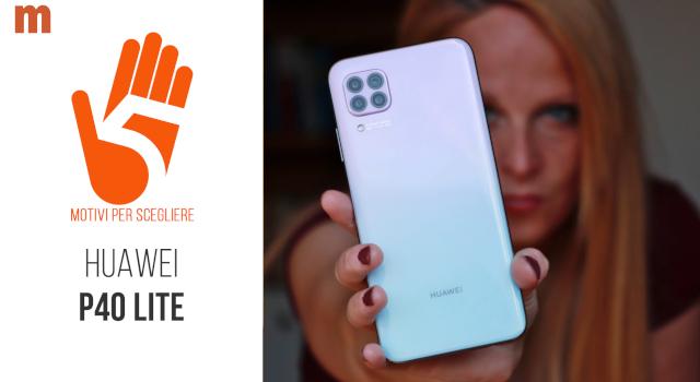 Recensione Huawei P40 Lite: camera test e come funziona