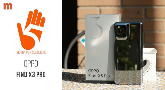 Oppo Find X3 Pro: la recensione