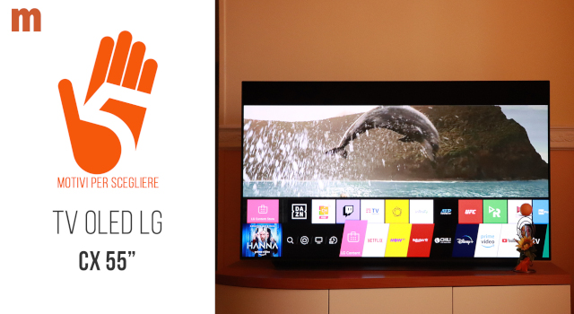 """Televisore LG OLED CX 55"""" 55CX6LA 4K UHD Smart: la recensione"""