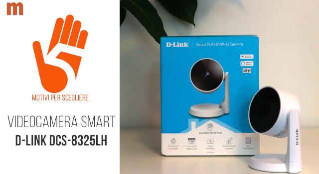 Telecamera di sorveglianza D-Link Wi-Fi Full HD con Intelligenza Artificiale: la recensione