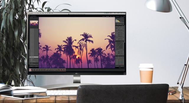Monitor LG 4K: tecnologia IPS e HDR per utenti prosumer e business