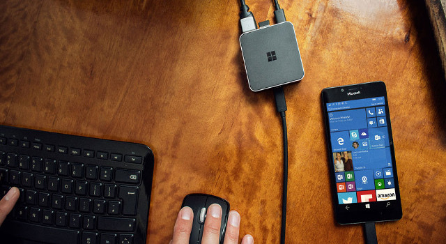 Windows 10 su smartphone: produttività con Continuum