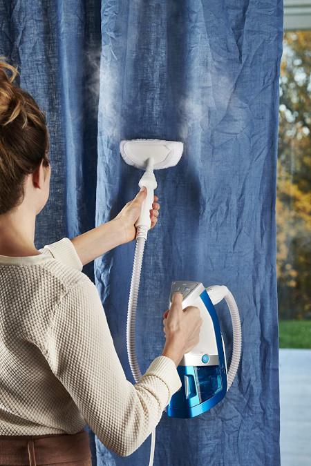 Pulitore a vapore per igienizzare le tende