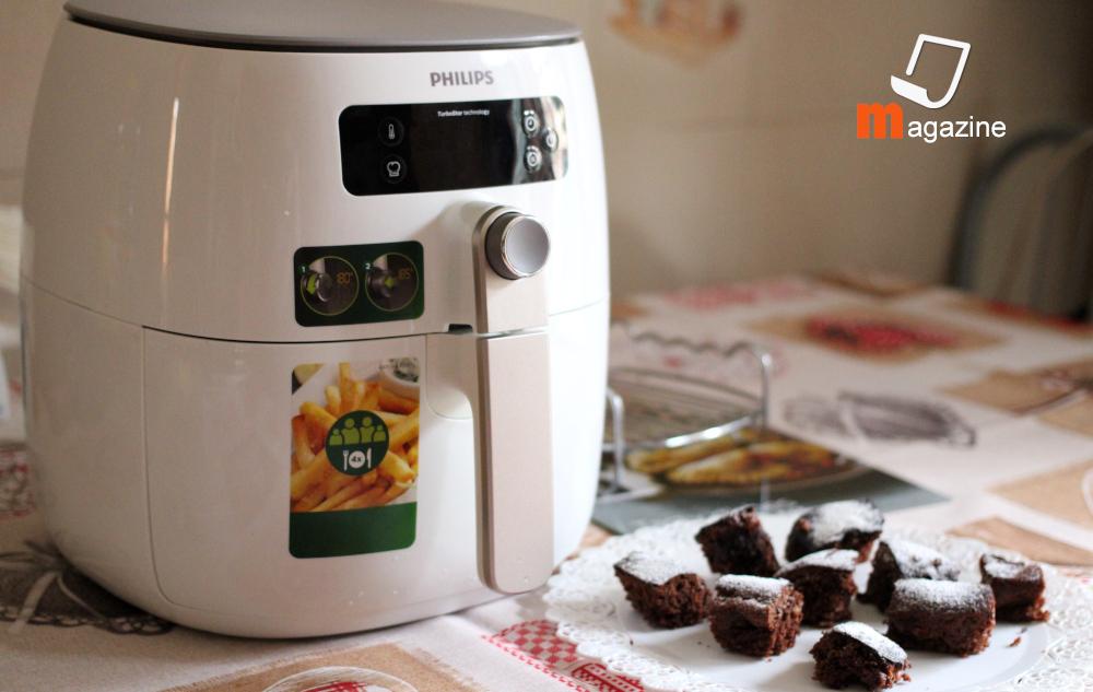 recensione friggitrice ad aria calda philips, cuocere dolci