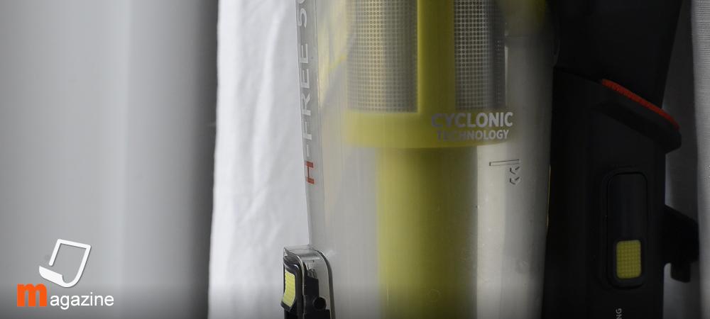 Scopa elettrica Hoover H-FREE 500 con tecnologia di aspirazione ciclonica