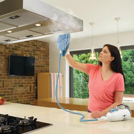 Igienizzare la cucina con il vapore