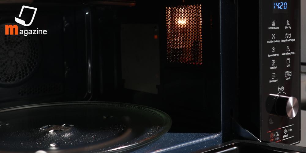interno forno microonde Samsung HotBlast