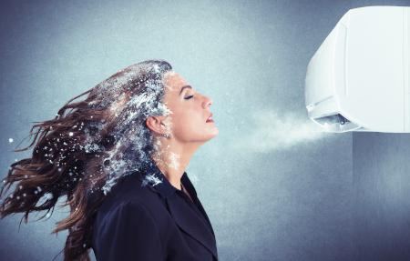 potenza refrigerante del condizionatore