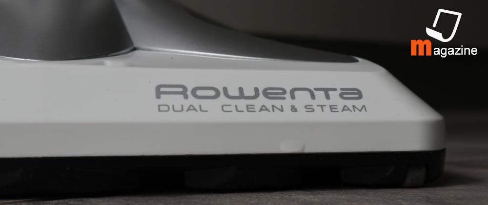 Spazzola scopa elettrica a vapore Rowenta Clean & Steam Multi