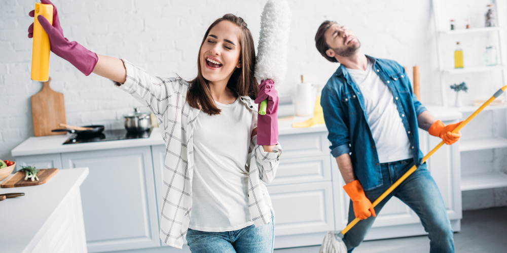 pulire casa prima di partire per le vacanze