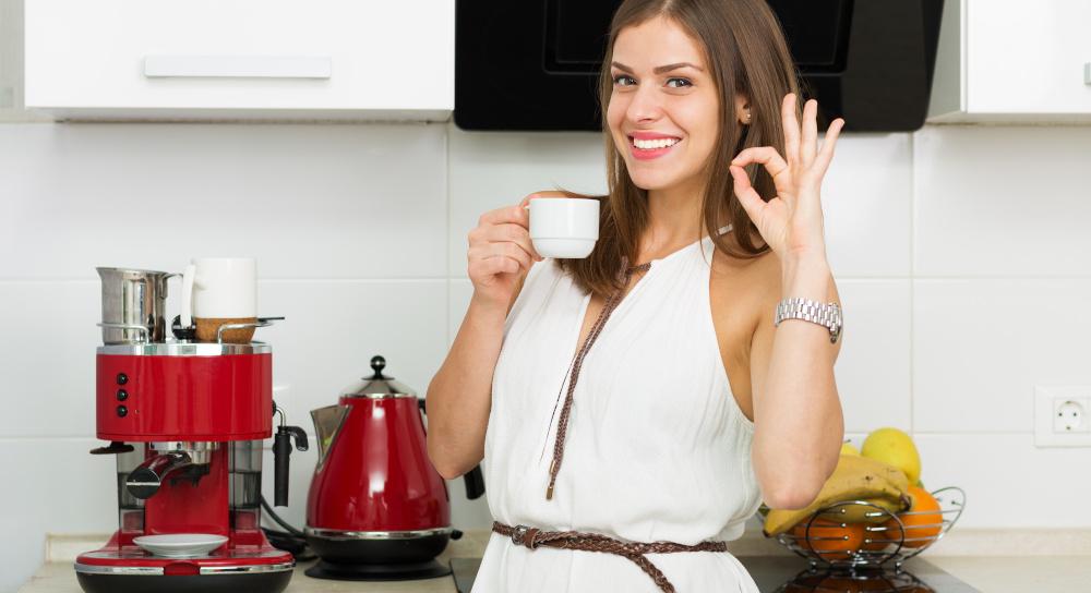 pulire la macchina del caffè