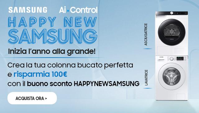 Bucato con Samsung