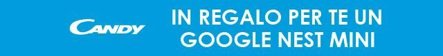 Candy regala Google Nest Mini