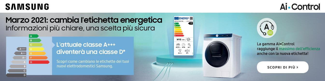Efficienza energetica Samsung