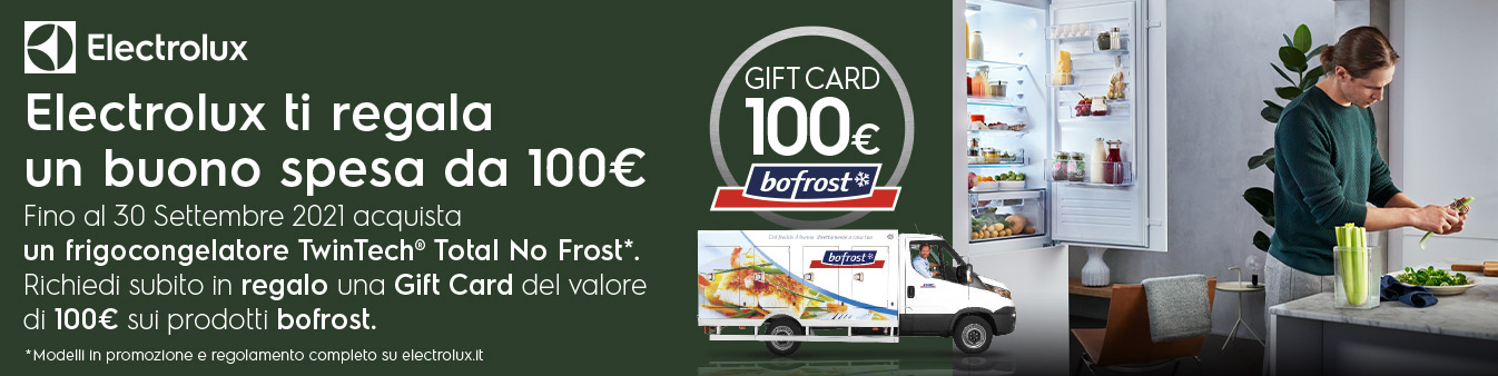 Electrolux ti regala Bofrost