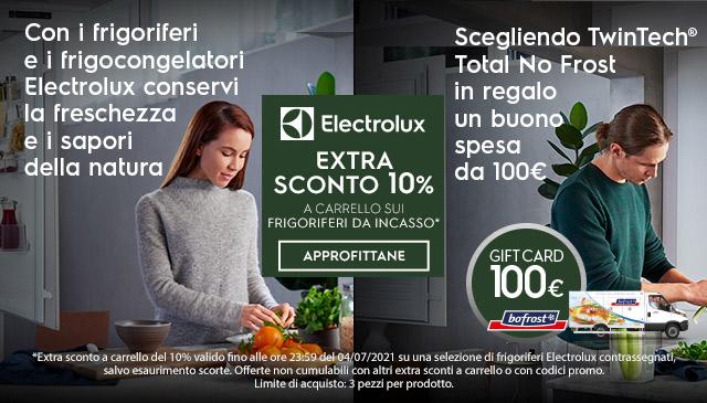 Extra sconto -10% Electrolux