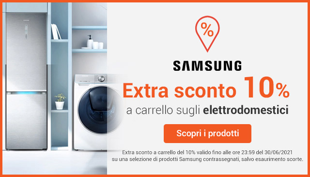 Extra Sconto -10% Samsung
