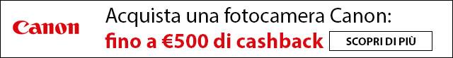 Canon Summer Promo - Cashback fotocamere