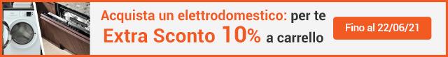 Extra Sconto 10% Grandi Elettrodomestici