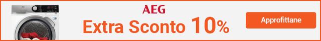 Extra sconto 10% AEG