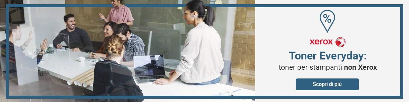 Xerox: toner di ricambio