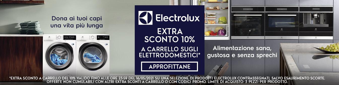 Extra sconto 10% Electrolux