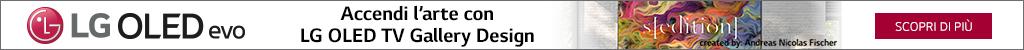 Accendi l'Arte con LG OLED TV Gallery Design