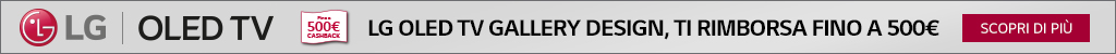 LG OLED TV Gallery: rimborso ¤500