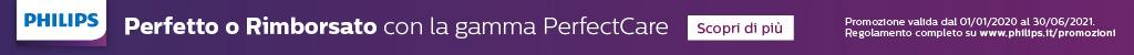 Philips PerfectCare: soddisfatto o rimborsato